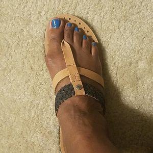 Leather Ugg sandals